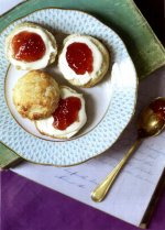 Cranberry and lemon scones