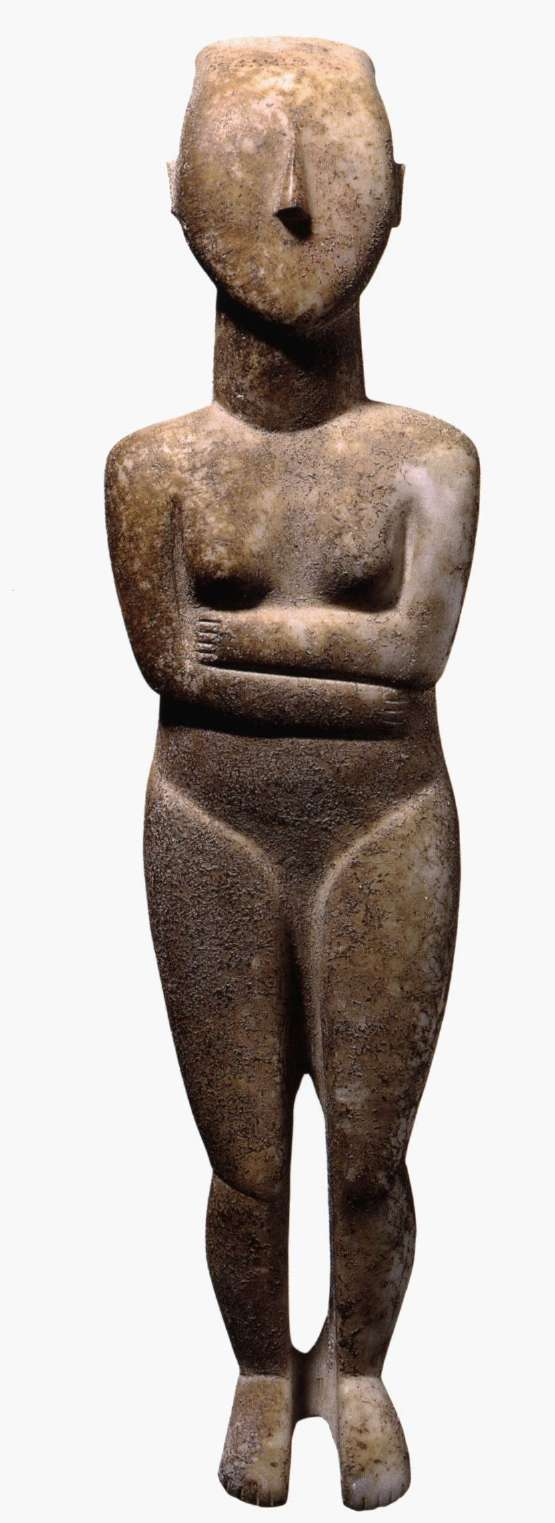 marble female figure Each consists of a single marble figure of a draped female which holds a basin at i this article derives each figure wears a thin chiton and long diagonal mantle belted the archaistic perirrhanteria of attica 209.