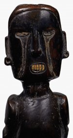 Wooden male figure