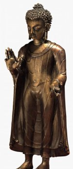 Bronze figure of the Buddha Shakyamuni