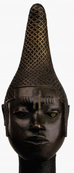 Commemorative head of Queen Idia