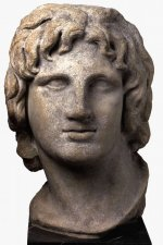 Marble portrait of Alexander the Great