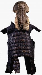 Crocodile-skin suit of armour