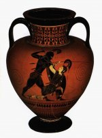 Black-figured amphora