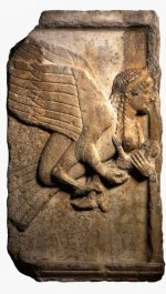 Relief panel from the Harpy Tomb