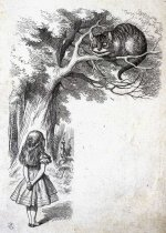 Sir John Tenniel (1821-1914), Alice and the Cheshire Cat