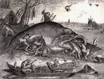 Pieter van der Heyden (1538-72), Big Fish Eat Little Fish