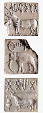 Steatite seals from the Indus Valley