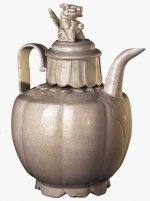 Qingbai wine ewer and basin