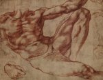 Michelangelo Buonarotti (1475-1564), Study for Adam