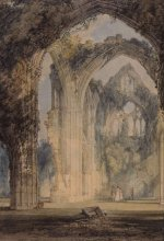 J.M.W. Turner (1775-1851), Tintern Abbey, the transept